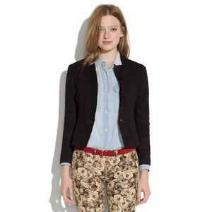 Madewell Buckley tailors Black lace blazer